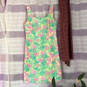 Lilly Pulitzer flamingo tank shift dress